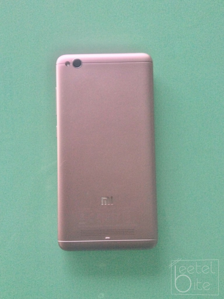 Xiaomi Redmi 4a Is It Worth Your Money 2gb 16gb Gold The Rear Of Smartphone Has Been Kept Exceptionally Clean And Resembles 3s In Various Ways Though Does Not Come With A