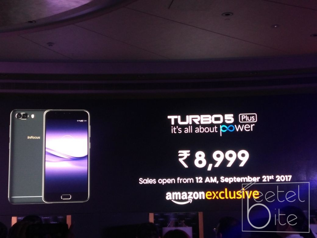 45d9a4cf24e InFocus Snap 4 and Turbo 5 Plus launched in India  Price
