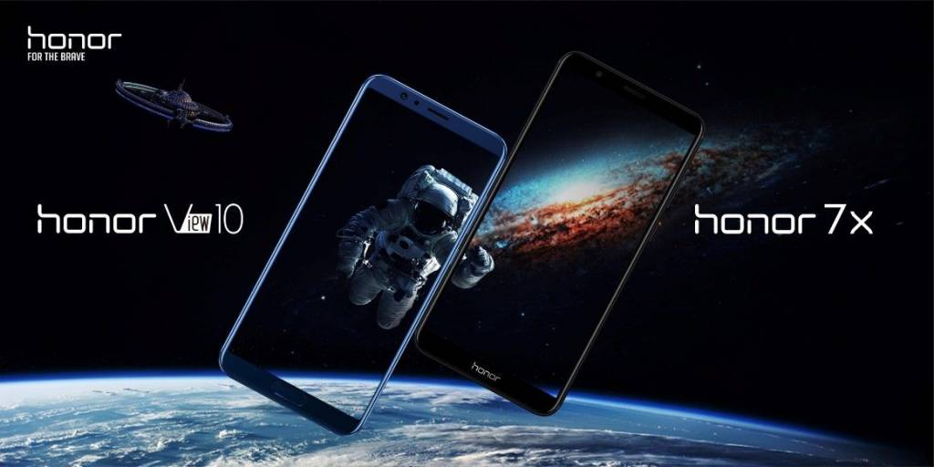 Honor 7X and V10