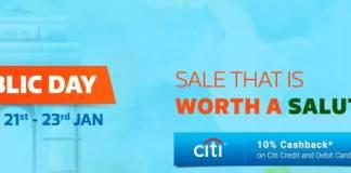 Flipkart's Republic day Sale