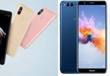 Xiaomi Redmi Note 5 Pro vs Honor 7x vs Xiaomi Mi A1
