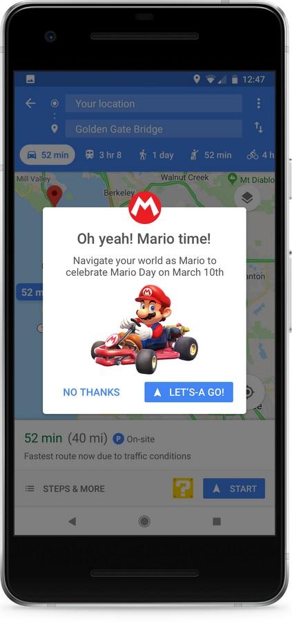 Google Maps Mario 1