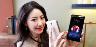 LG X4 launch