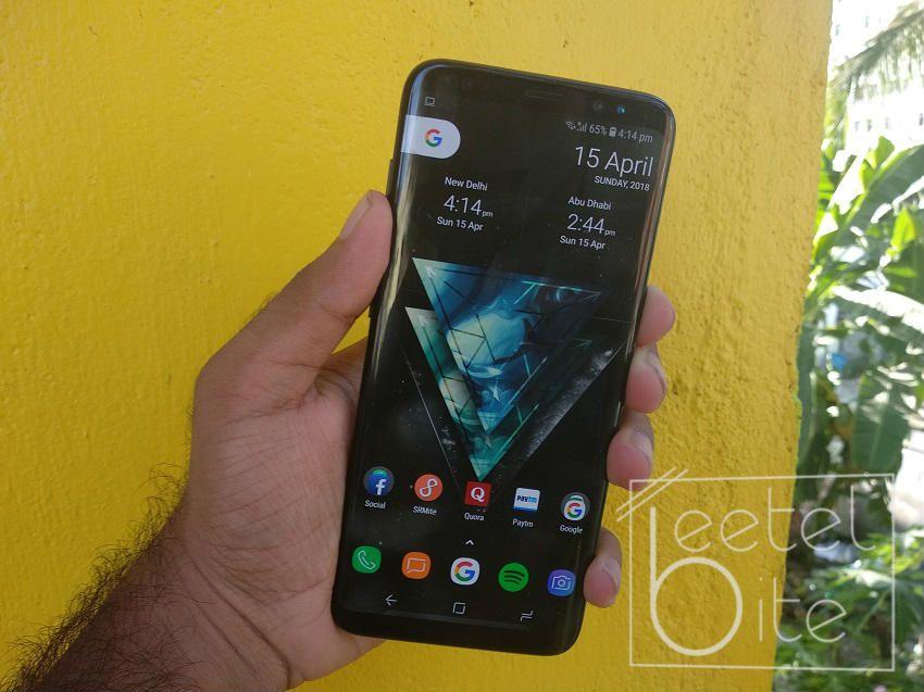 Samsung Galaxy S8 Screenshot (1)