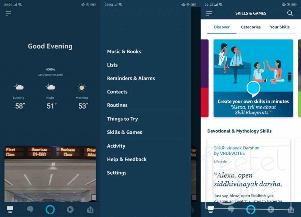 Alexa App on Android