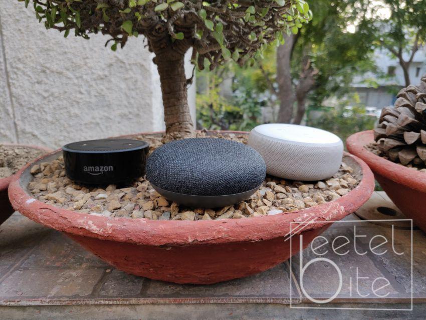 Amazon, Echo Dot 2nd Gen, Echo Dot 3rd Gen, Google, Home Mini