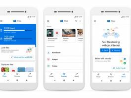 google, files, files go, android