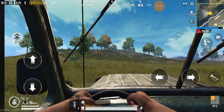 PUBG Fpp driving