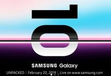 Samsung Unpacked 2019 Galaxy S10