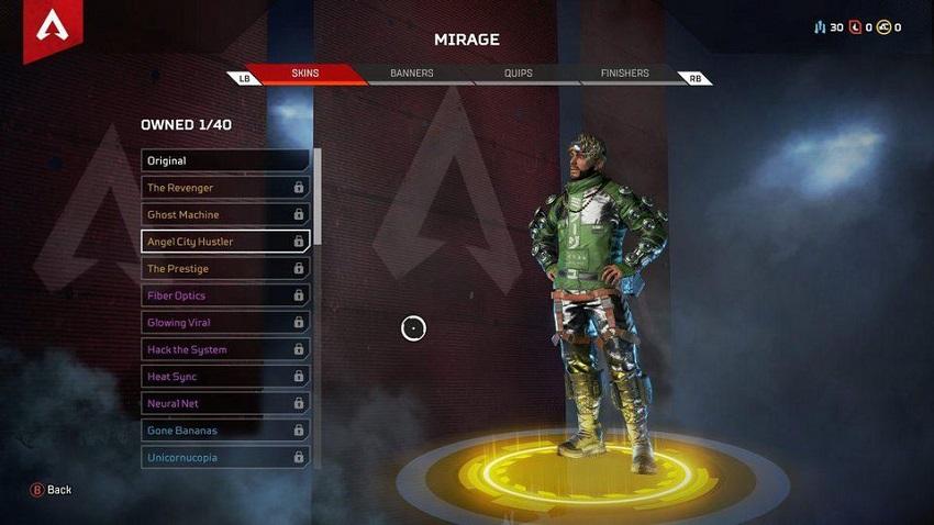 Apex Legends skin