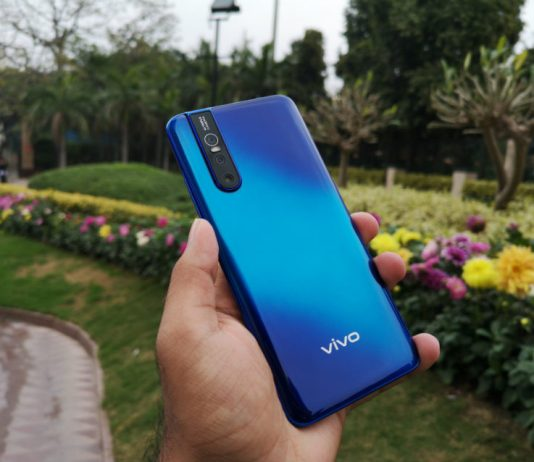 Vivo V15 Pro, vivo, in-display fingerprint scanner, popup camera, vivo, oppo, oneplus, triple camera, 48 megapixel, 32 megapixel
