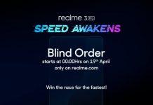 Realme 3 blind order