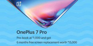 OnePlus 7 prebook