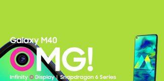 Samsung Galaxy M40, samsung