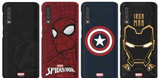 Samsung Marvel cases