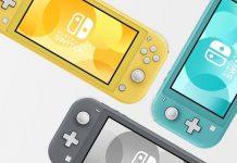Nintendo Switch, switch lite