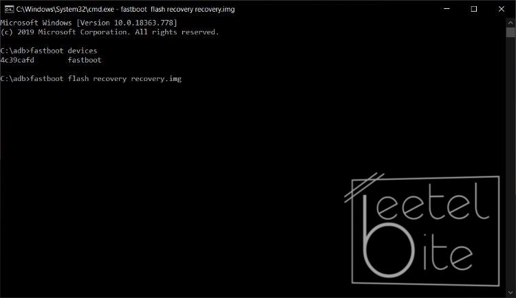 adb, fastboot, fastboot recovery